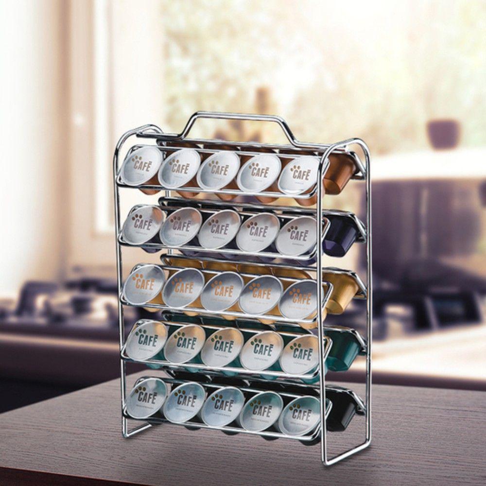 Organizador Para 50 Cápsulas De Café - Compatível Com Nespresso