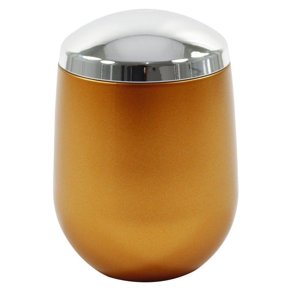 Porta Algodão Cotonete New Belly Vintage Dourado