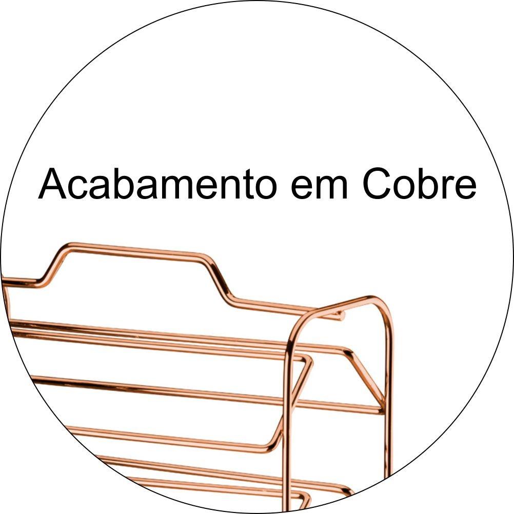 Porta Cápsulas de Café Dolce Gusto 32 Cápsulas - Cobre