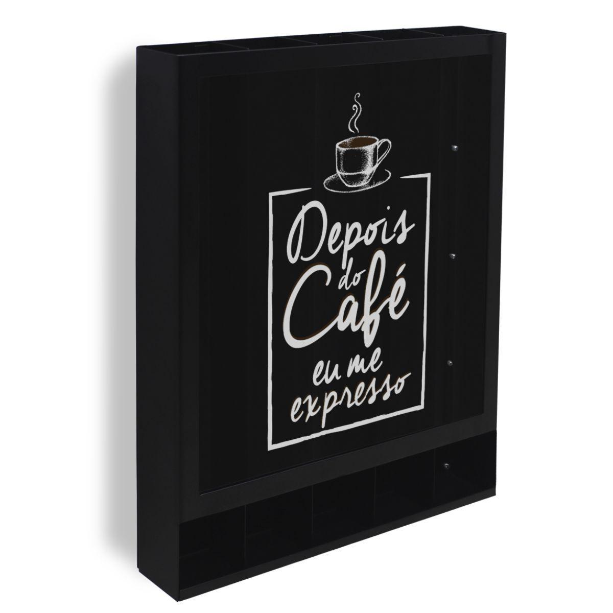 Porta Cápsulas de Café Modelo Universal Expresso de Parede