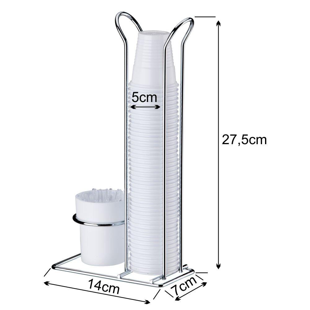 Porta Cápsulas Dolce Gusto+Suporte Copos 50ml e 80ml