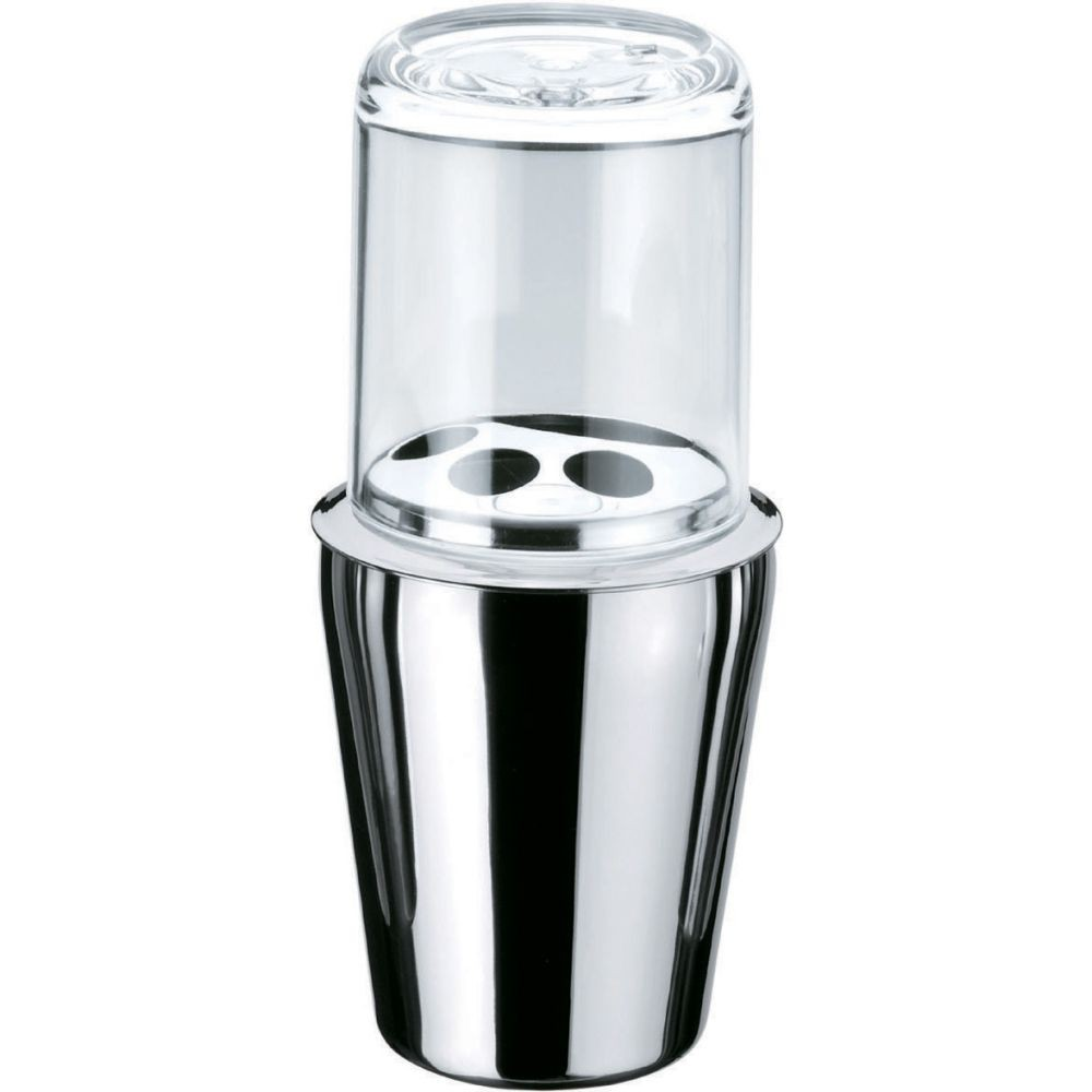 Porta Escova De Dentes Spa Aço Inox - Prata