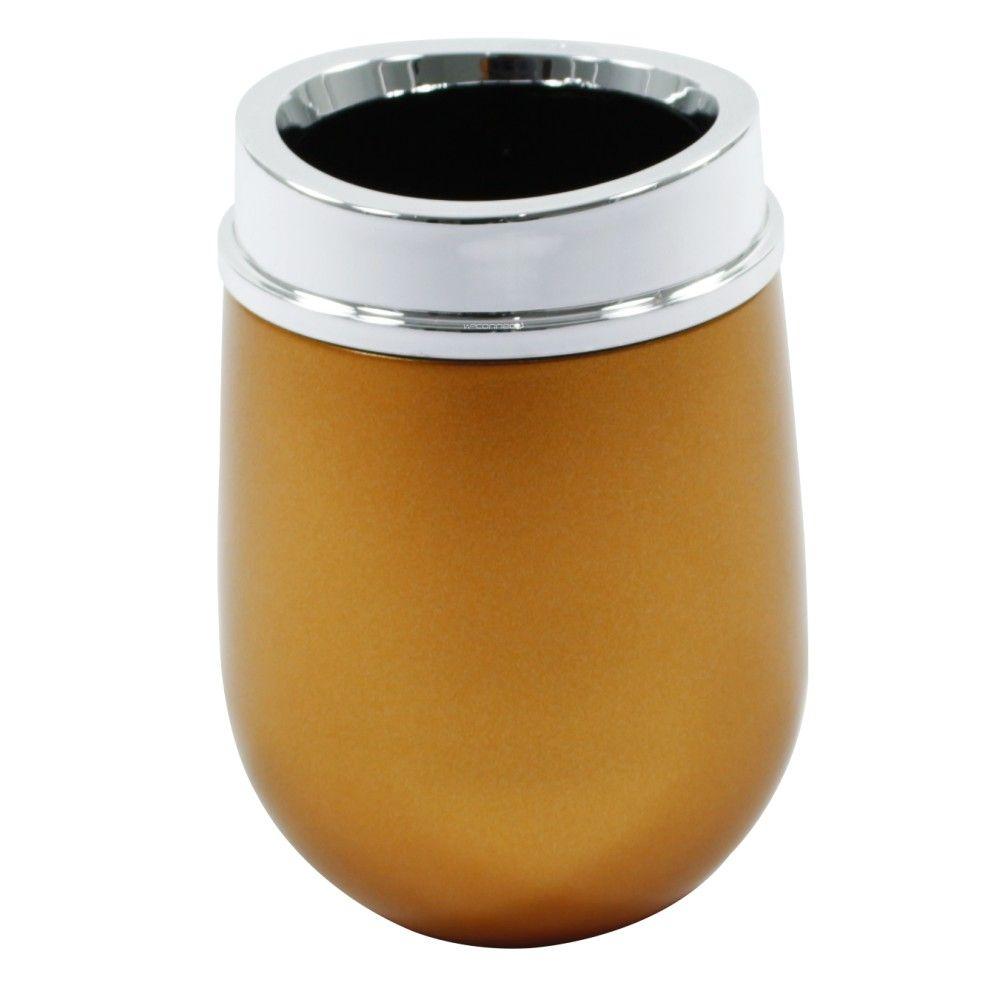 Porta Escova e Creme Dental Belly Vintage Dourado