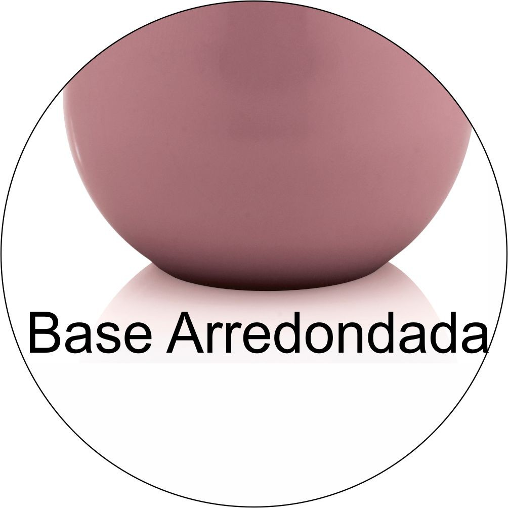 Porta Sabonete Líquido New Cromo Belly Rosa