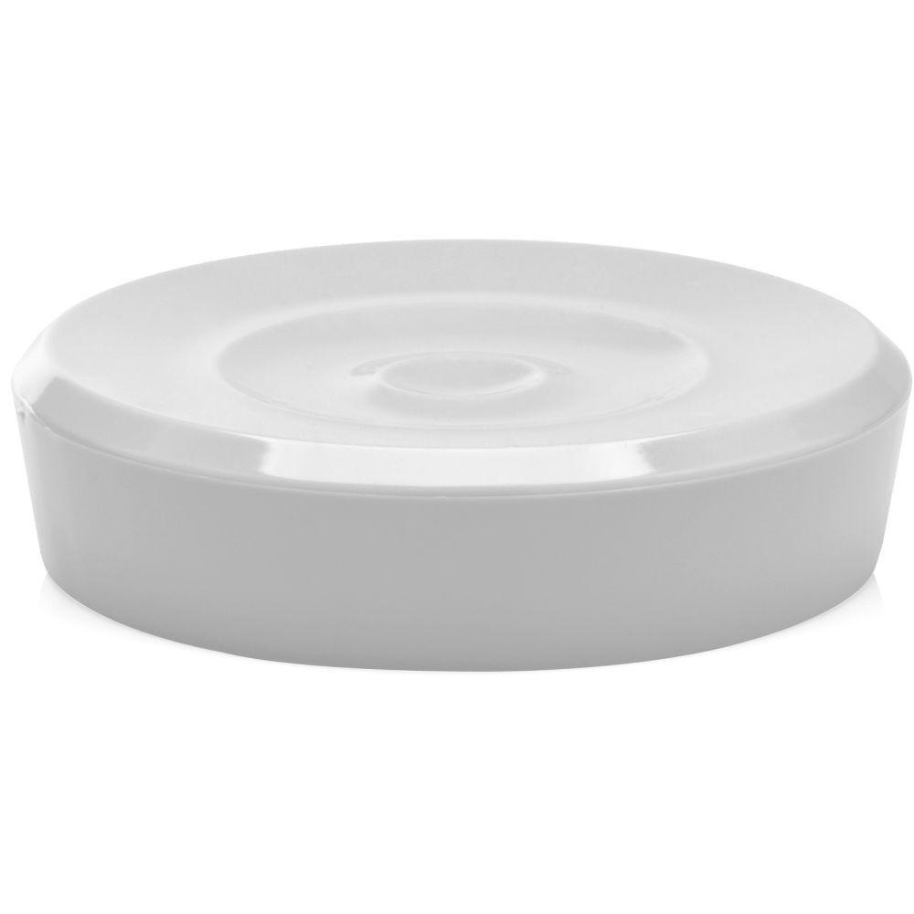 Saboneteira Porta Sabonete Belly Branca