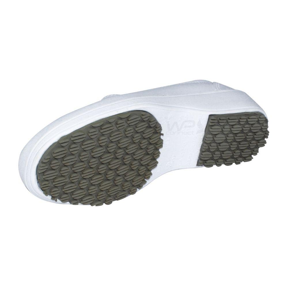 Sapato Enfermagem Medicina Feminino Lady Works - Branco