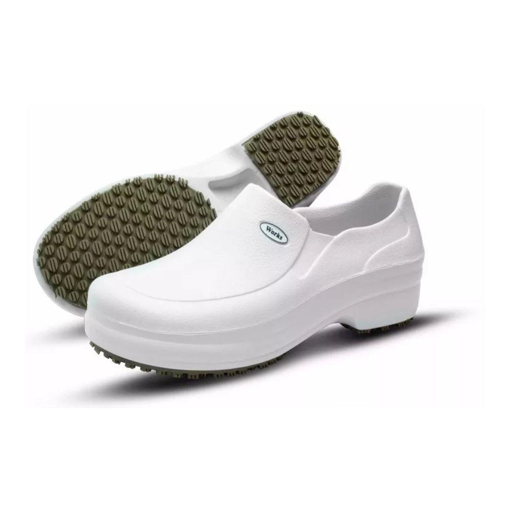 Sapato Med Works Antiderrapante Medicina e Gastronomia