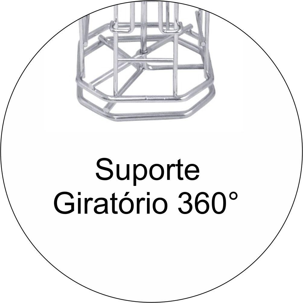 Suporte Giratório Porta 32 Cápsulas Café Dolce Gusto Torre