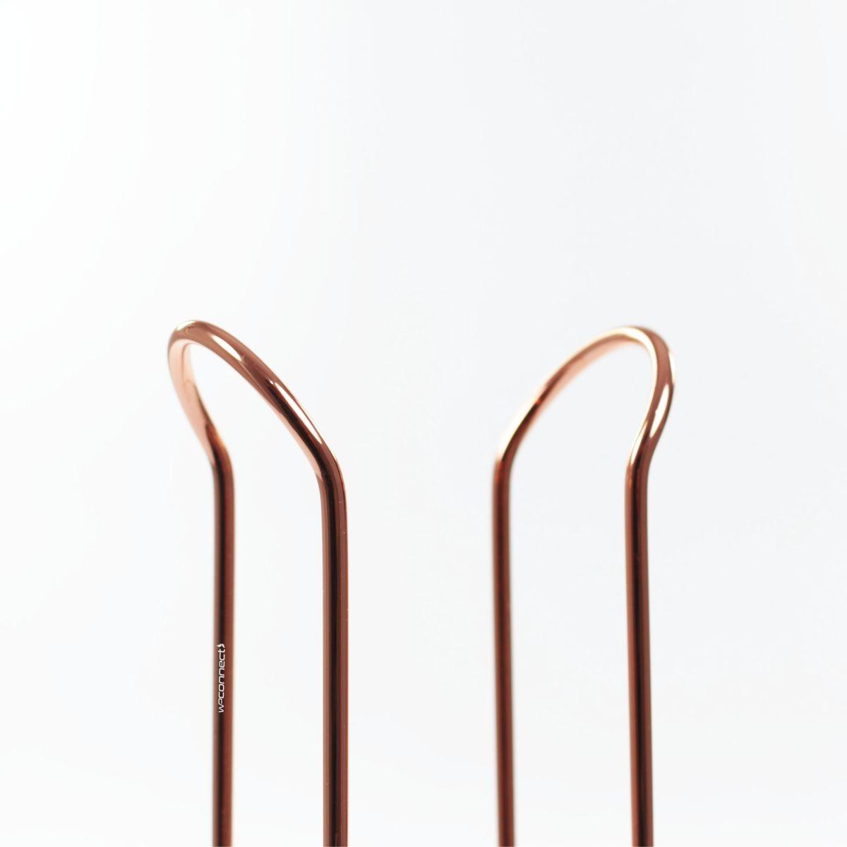 Suporte Organizador Porta Copos Descartáveis 200ml - Rosé Gold