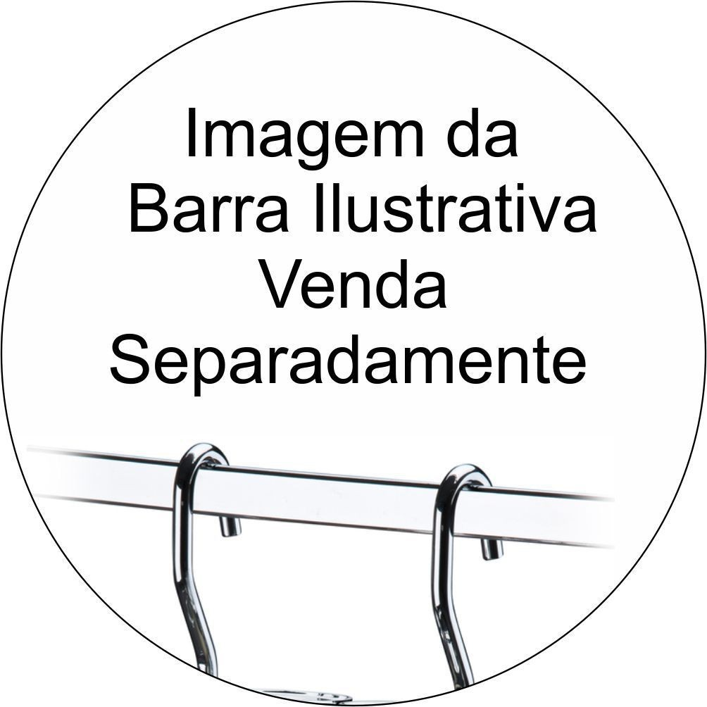 Porta Condimentos + Suporte e Lixeira + Suporte e Saleiro P/ Barra