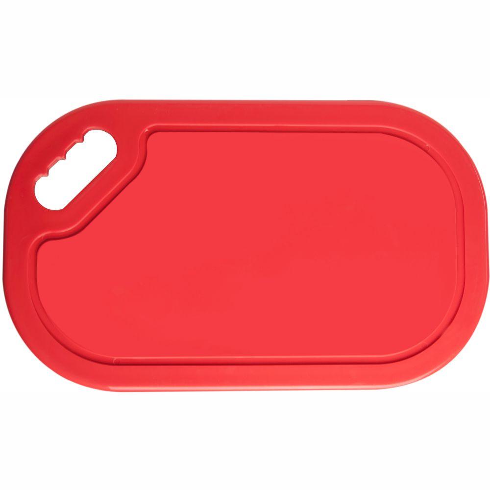 Tábua Industrial Para Corte De Carnes Cruas - Vermelha