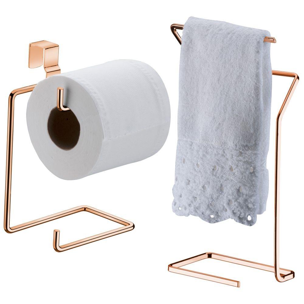 Toalheiro de Bancada com Papeleira P/ Caixa Acoplada Banheiro