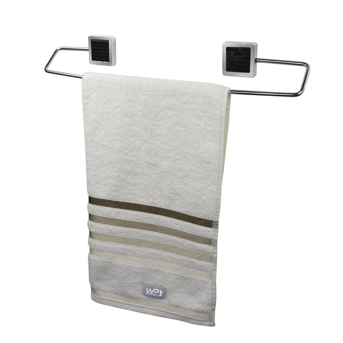 Toalheiro Porta Toalha de Banho Parede Banheiro - Preto