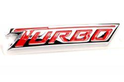 Emblema tampa porta - mala * turbo * - Cruze 2017 a 2019