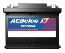 Bateria AcDelco 1995 a 2011 Amperes - Astra