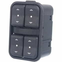 Botao interruptor do vidro eletrico lado motorista - Corsa novo 2006 a 2012