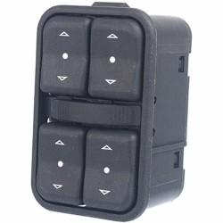 Botao interruptor do vidro eletrico lado motorista - Meriva 2006 a 2012
