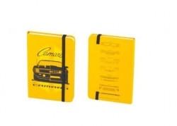 Caderneta de Anotacao Chevrolet - Camaro - Amarelo - 96 folhas 10x14 cm