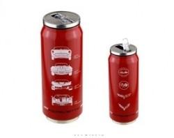 Copo Termico Inox Chevrolet - Corvette - Vermelho - 473 ml