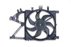 Ventoinha + defletor Radiador motor 1.4/1.8- Corsa novo/Montana 2002 a 2005