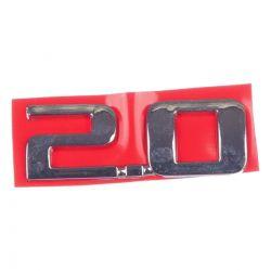 Emblema *2.0* tampa traseira- Vectra novo 2006 a 2011