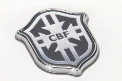 Emblema *cbf* paralama dianteiro - Onix 2015 a 2015