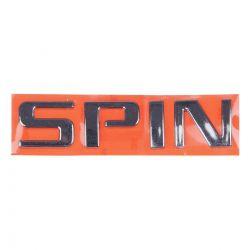 Emblema *Spinn* tampa traseira porta malas - Spin de 2013 a 2021