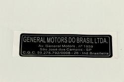 EtiqUeta general motors sao jose campos- Astra/ Corsa/ Meriva