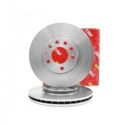 Jogo disco de freio dianteiro 5 furos - Astra de 2005 a 2011