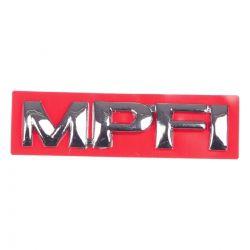 Emblema *mpfi* da tampa traseira porta malas- Astra 1999 a 2002/ Vectra 1997 a 2005/ Corsa 1996 a 2002