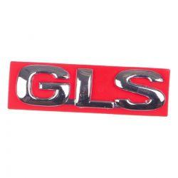 Emblema *gLs* da tampa traseira porta malas - Astra 1999 a 2002