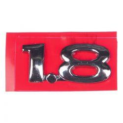 Emblema *1.8 Da tampa traseira porta malas - Astra 1999 a 2002