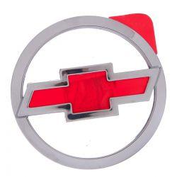 Emblema *bow tie* tampa traseira- Corsa novo hatch 2002 a 2012/ Celta 2003 a 2006