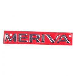 Emblema *Meriva* tampa traseira porta malas- Meriva 2003 a 2008