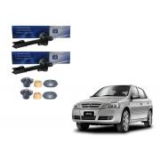 Kit amortecedor dianteiro (par) - Astra 1999 a 2011