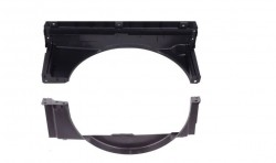 Kit defletor radiador - S10 2.8 2006 a 2011
