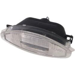Lanterna traseira da placa s/lampada - Astra hatch 1995 a 1996