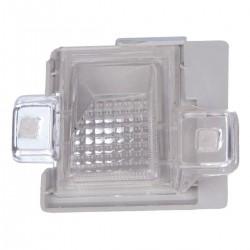 Lanterna de placa traseira lado motorista - S10 1995 a 2000