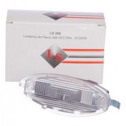 Lanterna de placa traseira - Vectra 1997 a 2000