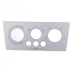 Moldura controle aquecedor/ ar condicinado - Meriva 2007 a 2012