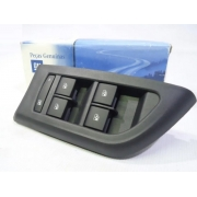 Moldura interrupor vidros porta dianteira/tras. lado motorista - Onix 2013 a 2020