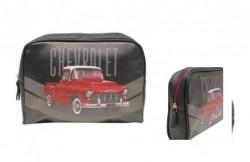 Necessaire PU Chevrolet - Chevy 3100 Preto 24x17x6 cm