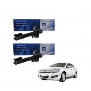 Par amortecedor dianteiro (cambio manual) - Vectra novo 2006 a 2011