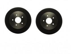Par tambor freio traseiro 5 furos - S10 de 1997 a 2011
