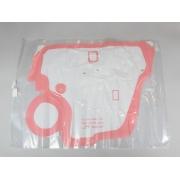 Plastico de vedacao da porta dianteira do passageiro - Spin de 2013 a 2021