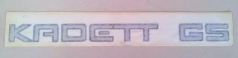 Emblema - Kadett 1989 a 1998