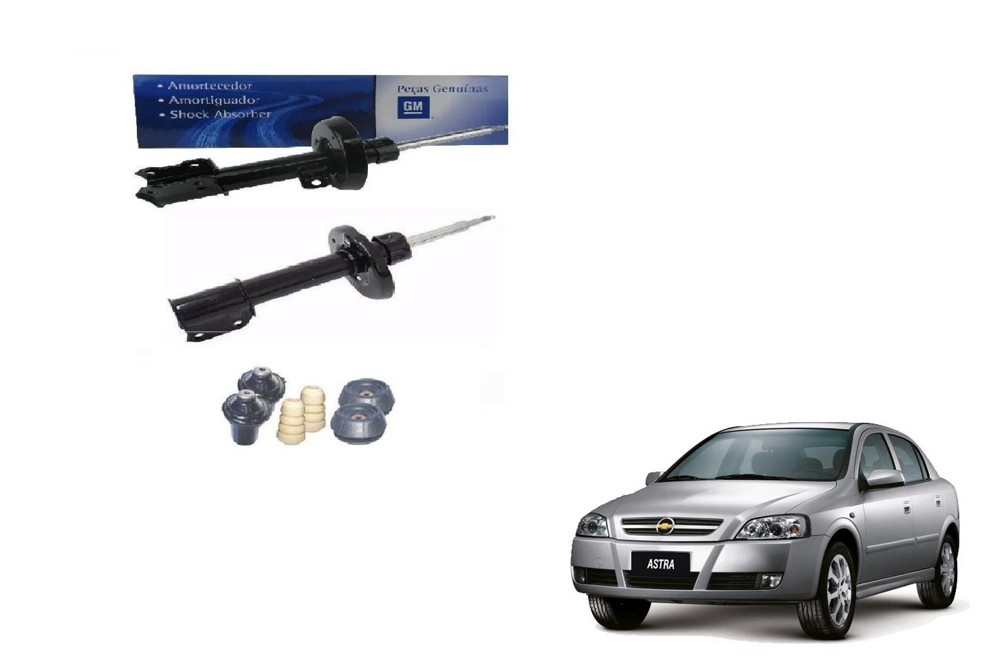 Amortecedor dianteiro + kit suspensao (par) - Astra 1999 a 2011