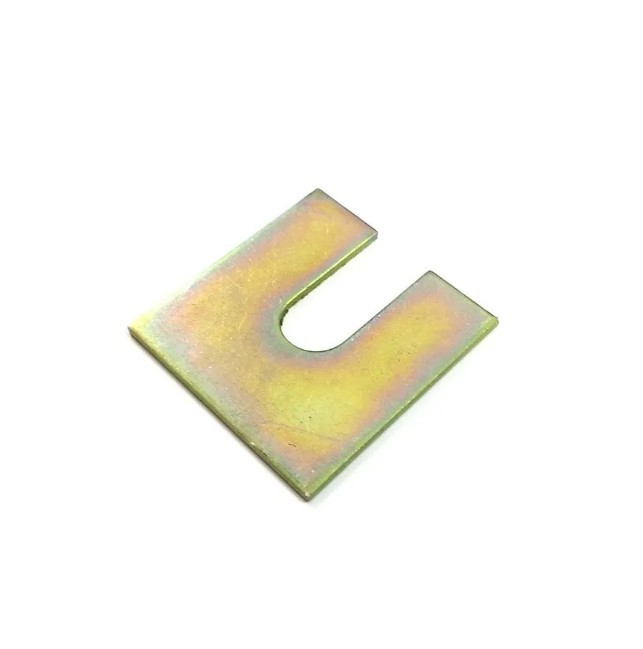 Calco barra impacto parachoque/ajuste paralama/cacamba - S10 1998 a 2019