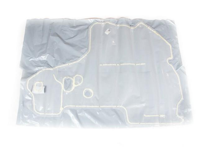 Defletor dagua porta dianteira lado moptorista - S10 Nova de 2012 a 2017