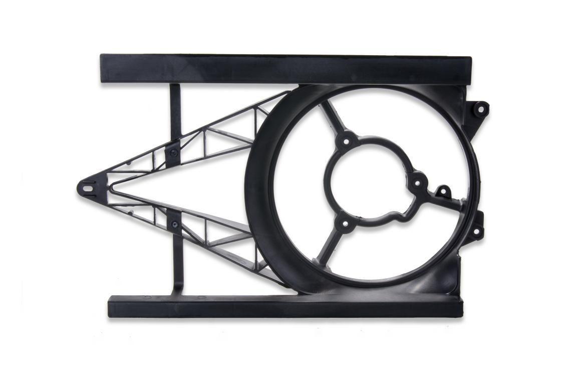 Defletor radiador (S/ a/c) - Celta 2001 a 2006